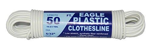 TW  Evans Cordage 775-050-03 Eagle Plastic Clothesline 532-Inch x 50-Feet