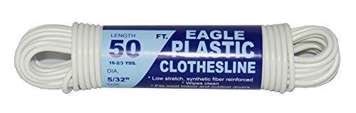 TW  Evans Cordage 775-050-03 Eagle Plastic Clothesline 532-Inch x 50-Feet by TW  Evans Cordage Co