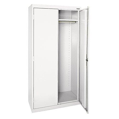 Sandusky Lee EAWR362472-22 Elite Series Wardrobe Storage Cabinet 36 Width x 24 Length x 72 Height White