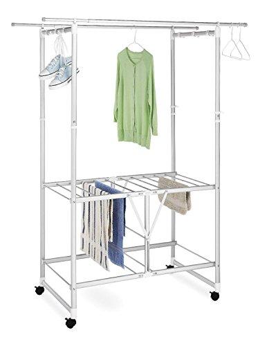 Generic LQ8LQ3302LQ ing Rac Clothes dry Cen Laundry Center min Drying Rack etal Large Aluminum Metal US6-LQ-16Apr15-1999