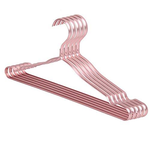 Alloy HangerHousehold UseWind-proofCoat HangerAdult WetClothes Hanger-C