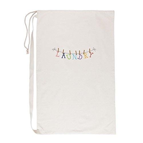 CafePress - Laundry Hanging - Laundry Bag 23x36 Canvas Bag