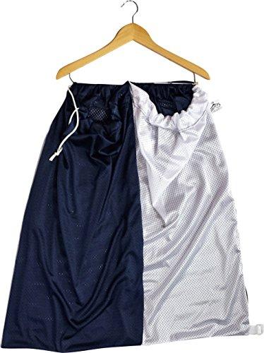 Hang-Me-UpsLaundry Sorter Hamper Hanging Laundry Bag Jersey Mesh Lg Capacity Navy Blue