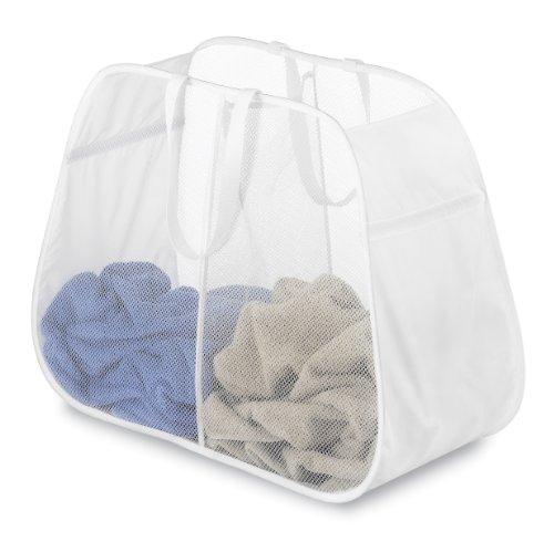 Whitmor Pop Fold Double Laundry Hamper