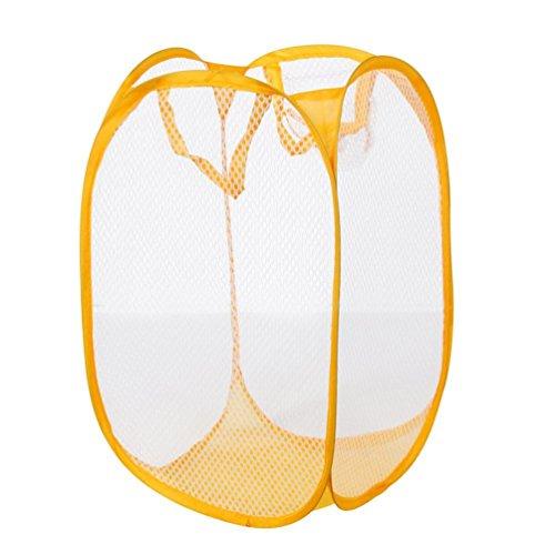 Gilroy Foldable Laundry Bag Pop Up Mesh Washing Laundry Basket Bin Toy Tidy Storage