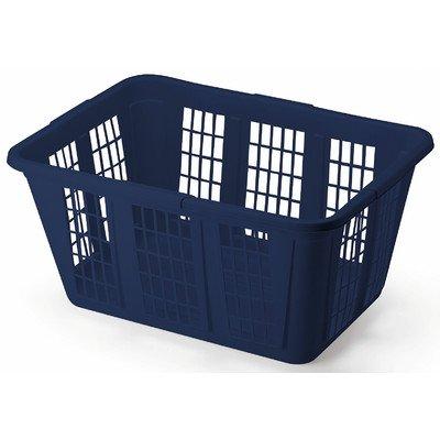 Rubbermaid Blue Rectangular Laundry Basket