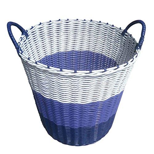 Enerhu Laundry Basket with Handles Clothes Storage Organizer Washing Hamper Sorter Bin 4