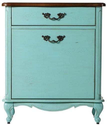 Provence Laundry Bathroom Hamper 33Hx285Wx13D BLUE