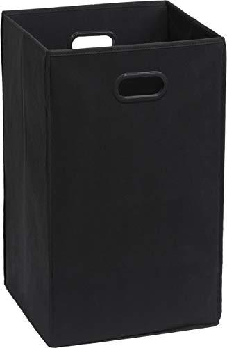 Simple Houseware Foldable Closet Laundry Hamper Basket Black