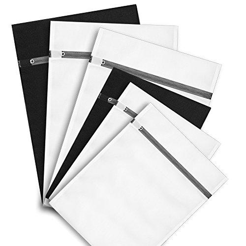 Laundry Washing BagsYAWALL Set of 6 Delicates Laundry Wash Bag for Bra lingerie Protection Underwear Ultra Premium Quality Travel Laundry Bag Washing Drying Bag