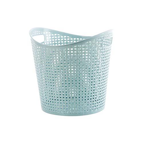 XXHDEE Bathroom Laundry Basket Bathroom Clothes Storage Basket Dirty Clothes Toy Storage Basket Blue 30x375cm Dirty Hamper