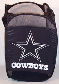 Dallas Cowboys Square Laundry Hamper