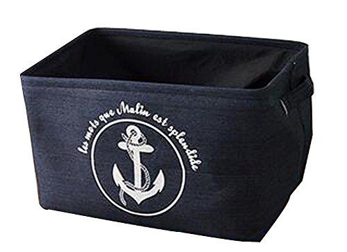 Square Laundry Hamper Basket Collapsible Storage Boxes Storage Bins