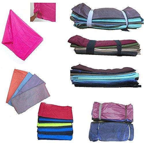 1 Heavy Duty Jumbo Sized Laundry Bag Nylon 277 x 35 College Home Dorm Colors