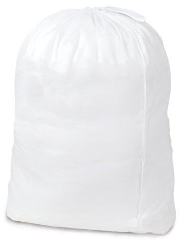 Pro-Mart DAZZ Solid Polyester Laundry Bag White Jumbo