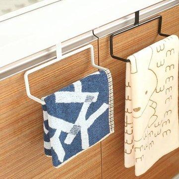 Multifunction Door Drawer Hook Bath Towel Rail Kitchen Dishcloth Shelf Hanger