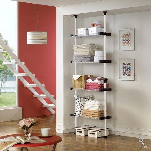 Quadruple Wire Shelf  Clothing Shelf  Closet Organizer