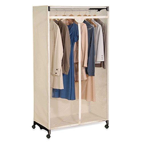 Portable Easy View Wardrobe Clothes Storage Closet Organizer