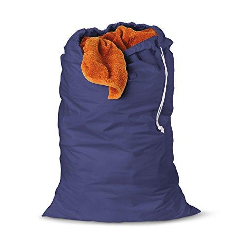 Honey-Can-Do LBG-01141 Jersey Cotton Laundry Bag Blue