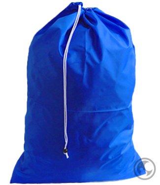 Large Laundry Bag with Drawstring and Locking Closure - Color Royal BlueSize 30x40