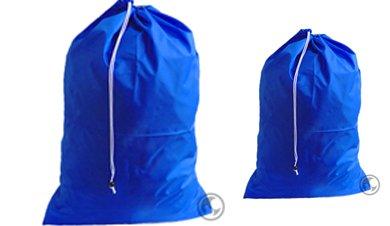 Royal Blue Laundry Bag Set - Extra Large 30x45 and Medium 24x36