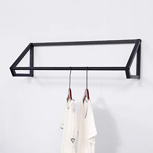 FKhanger Wall Clothing Storage RodIron Garment Storage RackClothes Hanging Rod for Storage-Length 100120cm Size  1203030cm