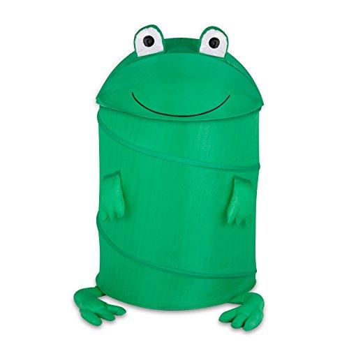 Honey-Can-Do HMP-02058 Kids Pop-Up Hamper Frog Large