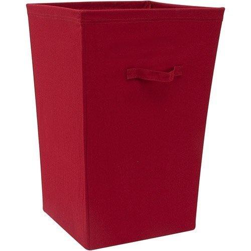 Mainstays Canvas Hamper Red Sedona