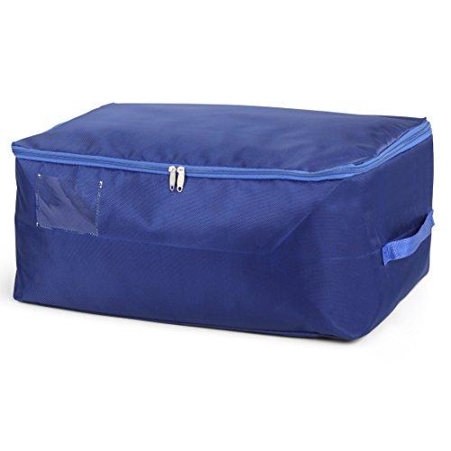 DOKEHOM DKA1014SBL Thick Under Bed Clothes Storage Bag Moisture proof Sapphire Blue L