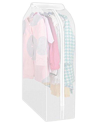 Garment Bag AOFUL Clothes Cover Bag Suit Bag Hanging Clothes Storage Bag Clothes Dust Cover 19 x23 x39
