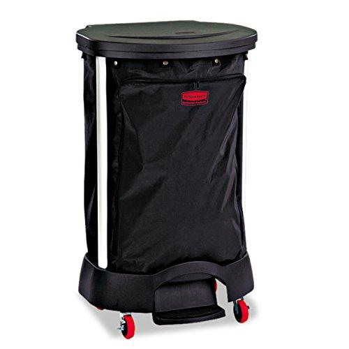 RubbermaidCommercial Premium Step-On Linen Hamper Bag RCP 6350 BLA