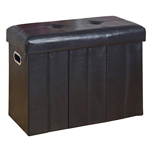 Simplify Collapsible BenchHamper in Black
