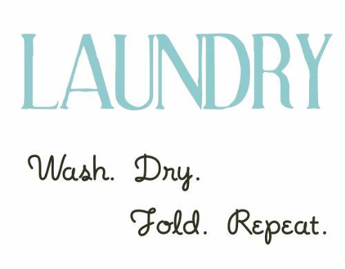 WallPops 99463 Laundry Wall Sticker