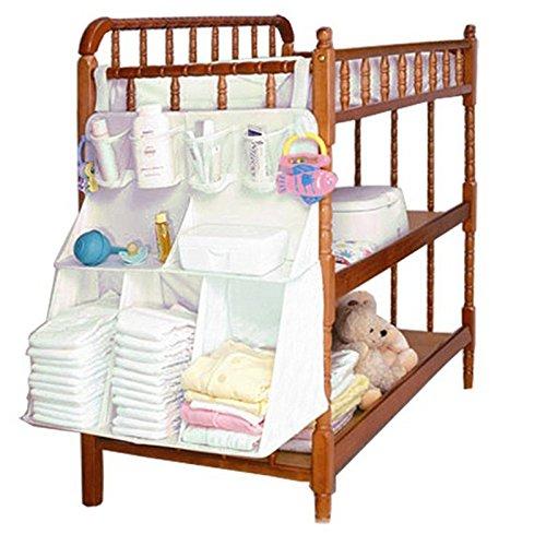 HULISEN Storage Bag Baby Bed Hanging Shelf Diaper Cloth Bottle Toy Closet Furniture
