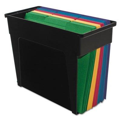 Desktop File Box 6x13 12x 10 12 Black Letter Sold as 1 Each
