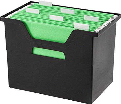 Generic 4-Piece Desktop File Box Black