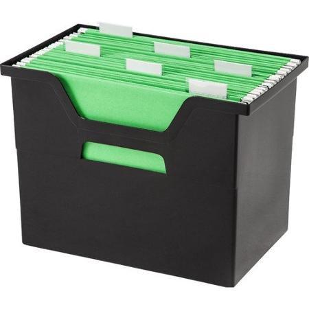IRIS Large Desktop File Box Set of 4