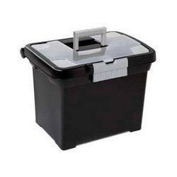 Sterilite 18719004 Portable File Box 4 pack