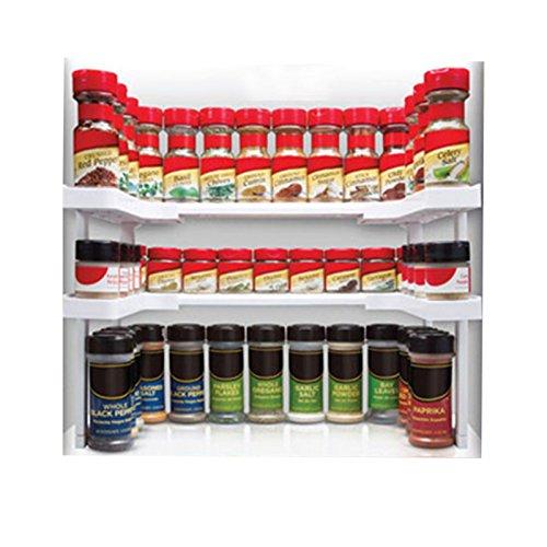 MiniInTheBox Spicy Shelf Spice Rack and Stackable Organizer Smart Kitchen Organizer Home Storage Organization
