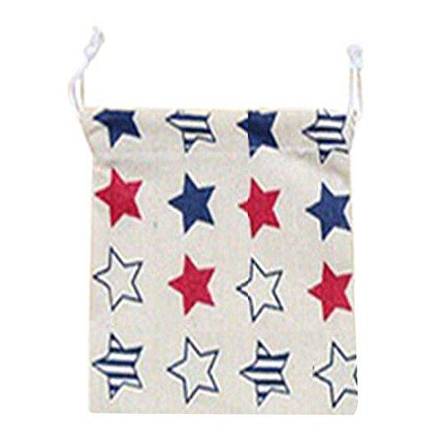 SODIALR Home storage organization Underwear lingerie shoe bag toy organizer Multifunction Fluid Systems pouch Item Accessories £¨Five-pointed star£S14175cm