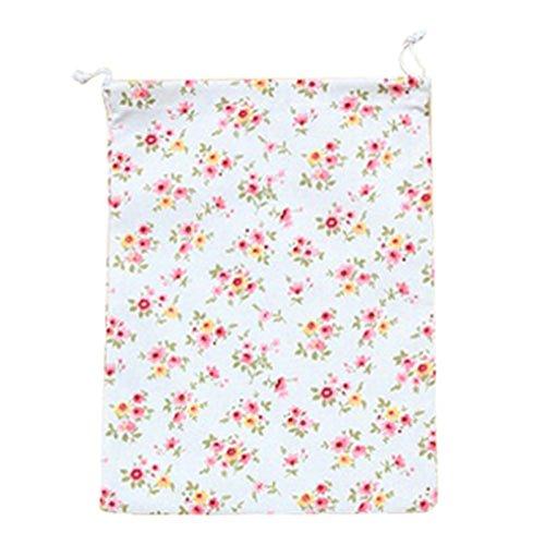 SODIALR Home storage organization Underwear lingerie shoe bag toy organizer Multifunction Fluid Systems pouch Item Accessories £¨Small Floral£M20245cm