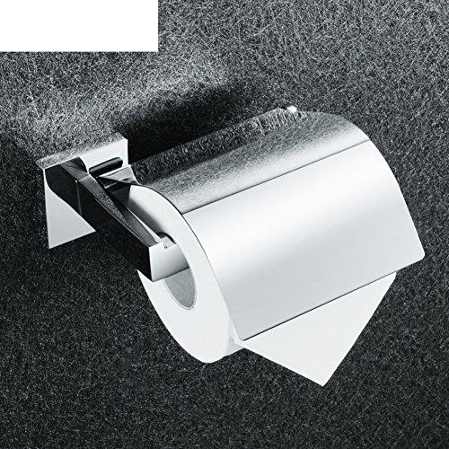 stainless steel roll holderToilet paper shelf Tissues holder -A