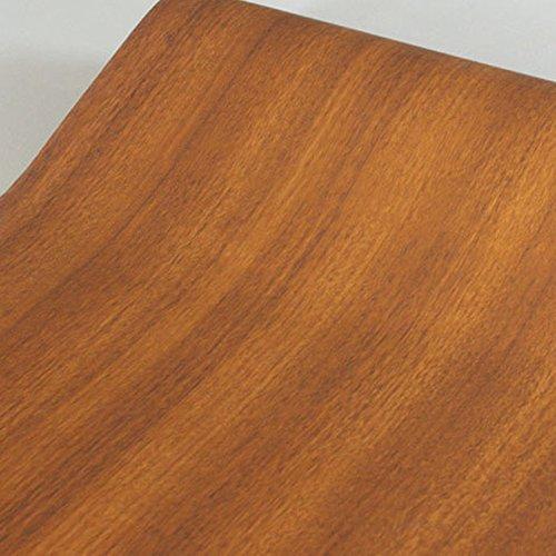 SimpleLife4U Nordic Wood Grain Shelving Paper Self-Adhesive Drawer Liner Refurbish Ugly Cupboard Doors 177 Inch By 98 Feet
