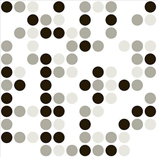 Con-Tact Brand Creative Covering Self-Adhesive Shelf Liner Polka Gray  18x 9