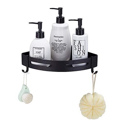 Gricol Bathroom Shower Caddy Adhesive Corner Shelf
