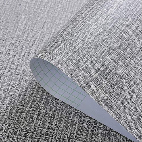 Yija Self-Adhesive Linen Gray Pattern Waterproof Shelf Drawer Liner Cabinet Sticker,Wallpaper 156Inch by 98Inch