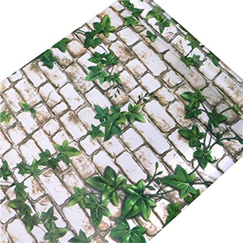 HOYOYO 178 x 78 Inches Self-Adhesive Shelf Liner Self-Adhesive Shelf Liner Dresser Drawer Contact Paper Wall Sticket Home Decoration Grape Leaf