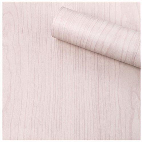 HOYOYO 17x78 Inches Self-Adhesive Shelf Liner Moisture Proof Dresser Drawer Paper Shelf Liner Mildew Proof Antifouling Contact Paper Beige Wood Grain