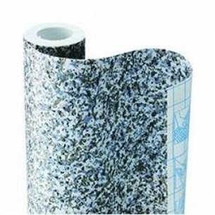 Magic Cover Self-Adhesive Shelf Liner 18-Inch by 24-Feet Granite Sand