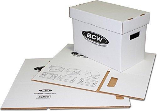 BCW 5 Magazine Storage Box Brand